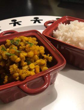 Curry di Chana Dal e zucca