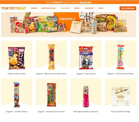 food box tokyo treat