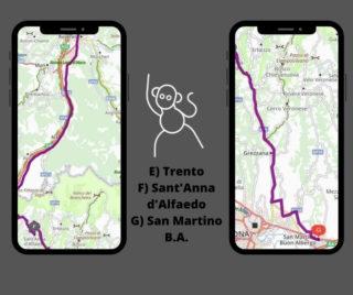 Itinerario moto: Trento val d'Adige, Lessinia