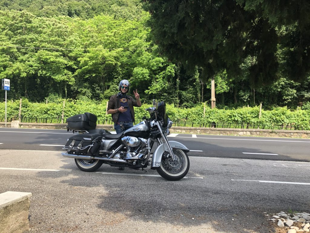 Harley Davidson - Giro in Moto Garda
