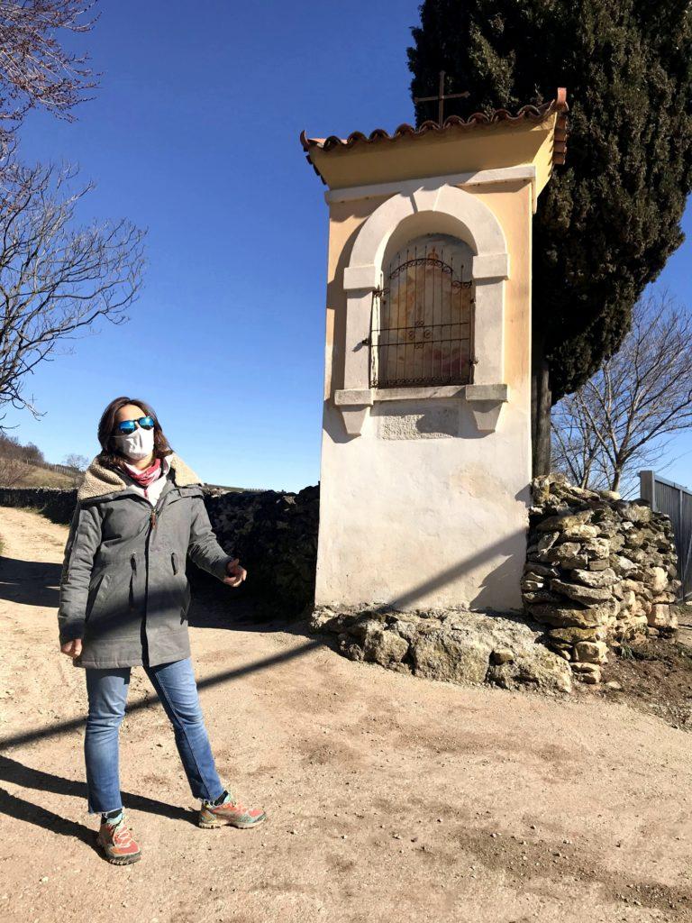 Passeggiate a Verona: Capitello San Vincenzo - 10 Capitelli - Soave