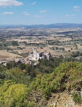 Cammino di San Francesco viaggiare a piedi
