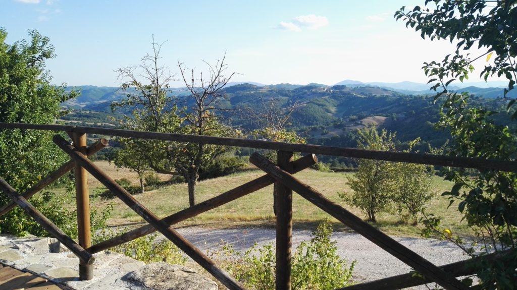 colline umbre cammino pellegrino San Francesco