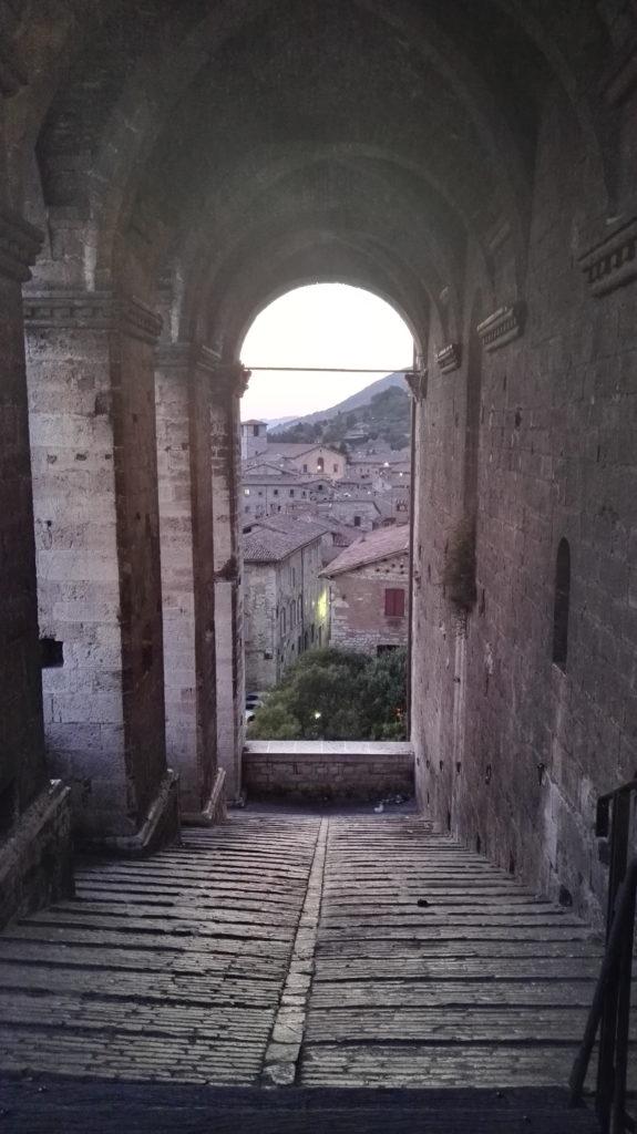 Gubbio tappa del cammino di San Francesco