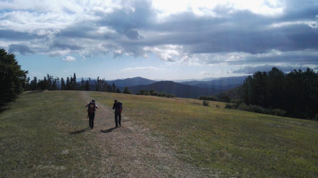 cammino di san francesco partenza da La Verna