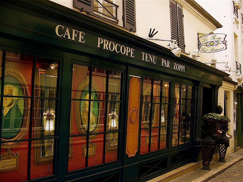 Cafè Procope a Parigi