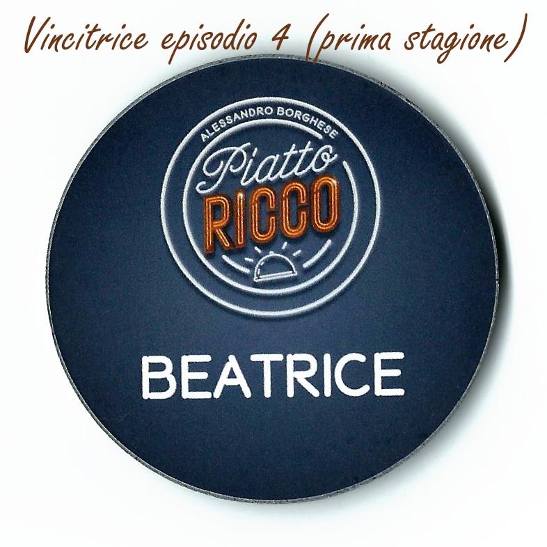 Piatto Ricco Alessandro Borghese - Vincitrice episodio 4